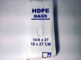 HDPE maisiņi fasēšanai